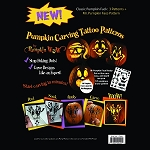 25 -- Wholesale Pumpkin Carving Tattoo Patterns